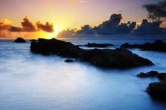 Luz del sol en el amanecer Imagen de archivo libre de regalías