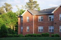 Luz del sol en la construcción de viviendas Imagen de archivo libre de regalías