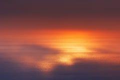 Luz del sol que refleja del agua fotografía de archivo