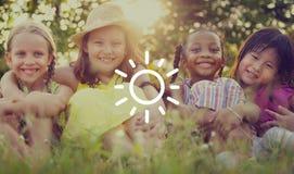 Luz del sol Sunny Summer Spring Vacation Concept de la sol Foto de archivo