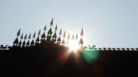 Luz del templo Fotos de archivo libres de regalías