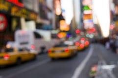 Luz del Times Square Fotografía de archivo