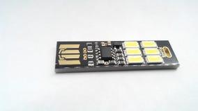 Luz del USB Electrónica Portable de Photolight Fotografía de archivo