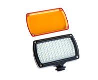 Luz del vídeo del LED Fotos de archivo libres de regalías