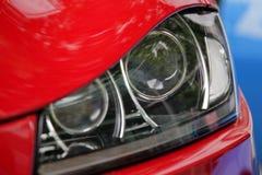 Luz dianteira do carro imagem de stock