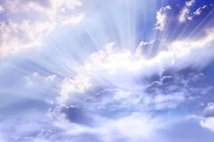 Luz divina Imagen de archivo libre de regalías