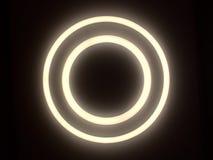 Luz do círculo Fotografia de Stock