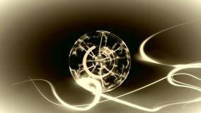 Luz do círculo do vetor fotografia de stock royalty free