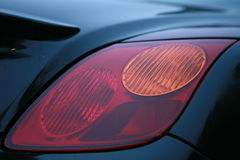 Luz do carro Fotografia de Stock Royalty Free