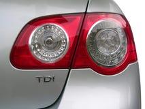 Luz do carro Foto de Stock Royalty Free