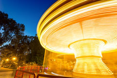Luz do carrossel Fotografia de Stock Royalty Free