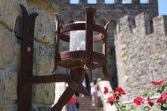 Luz do castelo Foto de Stock Royalty Free