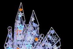 A luz do castelo das luzes do festival faz povos felizes Imagens de Stock