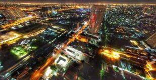 Luz do centro da cidade foto de stock royalty free