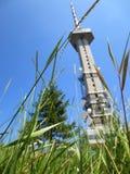 Luz do dia da torre da tevê Fotos de Stock Royalty Free