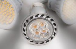Luz do diodo emissor de luz Fotografia de Stock