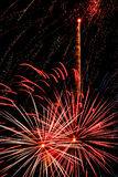 Luz do fogo de artifício Foto de Stock Royalty Free