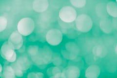 luz do fundo do bokeh - verde Foto de Stock Royalty Free