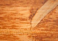 Luz do Grunge - textura natural do painel de madeira marrom Imagem de Stock Royalty Free