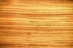 Luz do Grunge - textura natural do painel de madeira marrom Fotografia de Stock Royalty Free