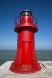 Luz do Mar Vermelho Fotografia de Stock Royalty Free