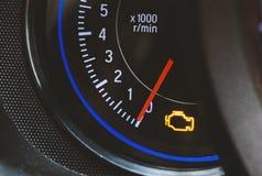 Luz do motor Imagem de Stock Royalty Free