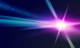 Luz do outeiro imagem de stock