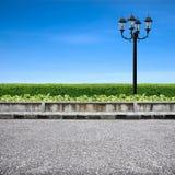 Luz do pavimento e de rua Imagens de Stock