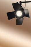 Luz do ponto do estúdio imagem de stock