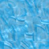 Luz do Sl - telhas azuis ilustração stock