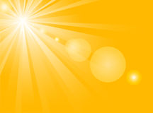Luz do sol   ilustração stock