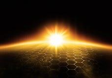 Luz do sol ilustração royalty free