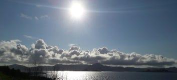 Luz do sol bonita Fotos de Stock Royalty Free