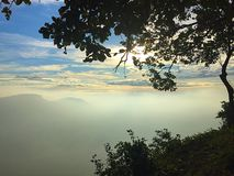 Luz do sol da boa manhã Imagens de Stock