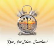 Luz do sol das citações ou da expressão, da elevação e do brilho! ilustração do vetor