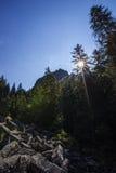Luz do sol de Detunata Imagens de Stock