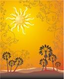 Luz do sol do verão Fotografia de Stock Royalty Free