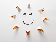 Luz do sol feliz Foto de Stock Royalty Free