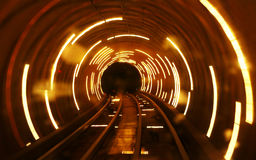Luz do túnel Fotos de Stock Royalty Free