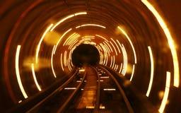 Luz do túnel Fotos de Stock Royalty Free