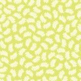 Luz do vetor - teste padrão sem emenda verde com folhas tropicais Apropriado para a matéria têxtil, o papel de embrulho e o papel ilustração stock