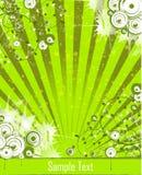 Luz do vetor - verde Fotos de Stock