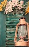 Luz do vintage Imagens de Stock Royalty Free