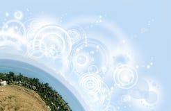 Luz dos círculos Imagens de Stock Royalty Free