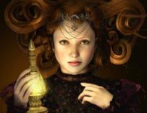 A luz dourada Fotografia de Stock