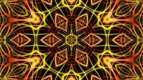 Luz dourada abstrata da fase fundo da rendição 3D Fotografia de Stock Royalty Free