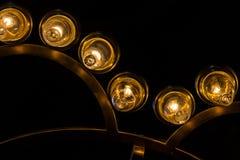 Luz dourada em Hagia Sophia, Istambul, Turquia fotos de stock royalty free