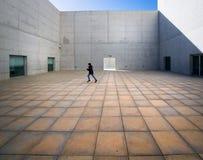 Luz e arquitetura Foto de Stock