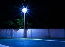 Luz e parede de tijolo Imagem de Stock