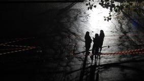 Luz e sombra fotos de stock